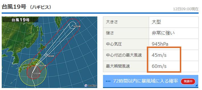 世界最大級!?台風19号特集「めちゃ調べてるので特別ページ更新中」