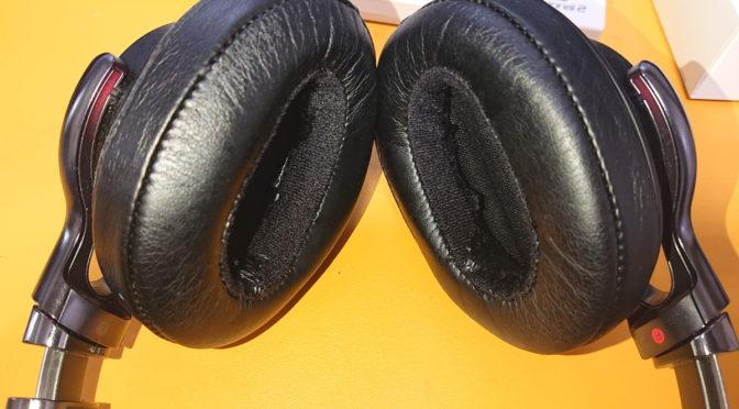 【ヘッドフォン】ソニーのヘッドホン使ってたら耳に海苔が!?なんでこうなった!?